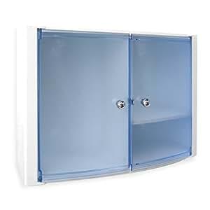 Tatay 4439000 kristal schrank horizontale 2 t ren for Schrank verschluss