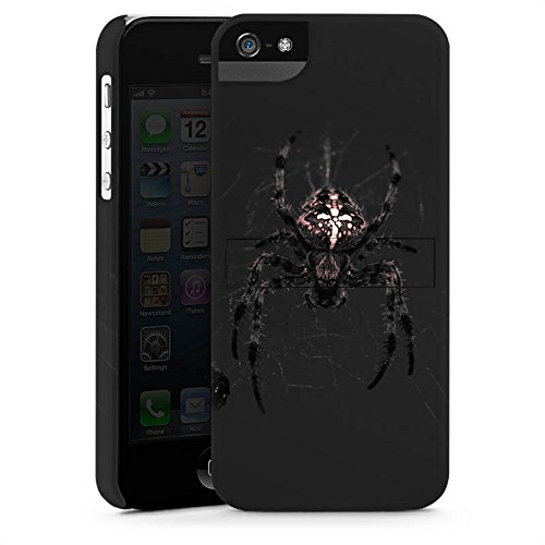 Apple iPhone X Silikon Hülle Case Schutzhülle Araneus Spinne Spider Premium Case StandUp