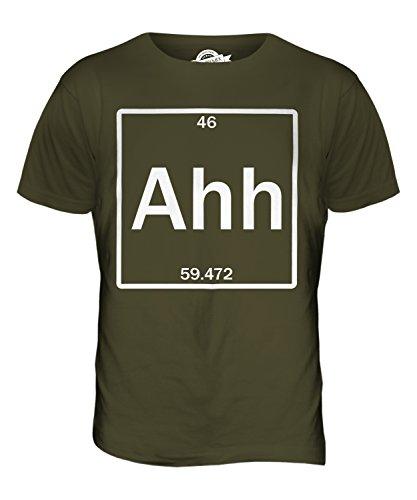 CandyMix Das Element Der Überraschung Herren T Shirt Khaki Grün