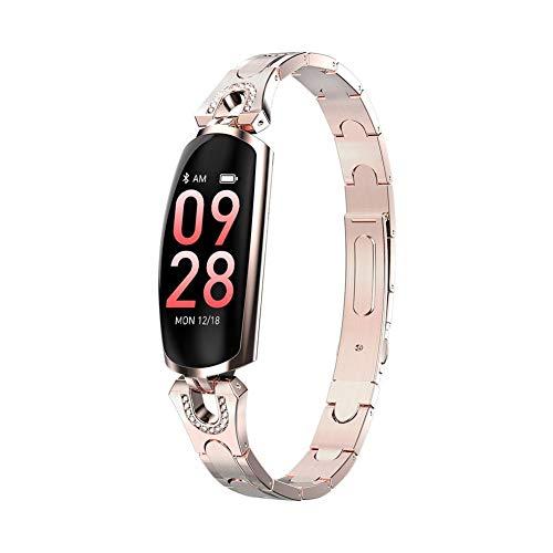 shewt AK16 Frauen Smart Armband Armband Blutdruck Pulsmesser Fitness Tracker IP67 Wasserdicht Smart Gürtel Smart Armband für Frau