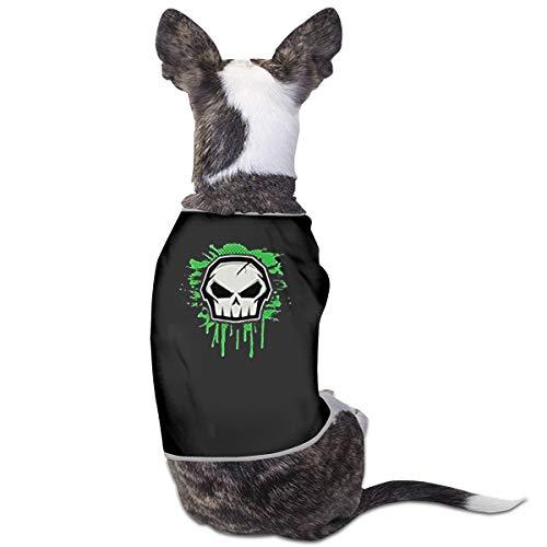Smile Shop Hundekostüm Punisher Totenkopf (Womens Punisher Kostüm)