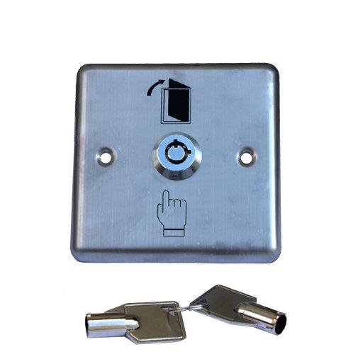 ZUBEHÖR 1x Schlüsselschalter / -taster mit 2 Schlüssel Garagentoröffner TOR ANTRIEB TORANTRIEB