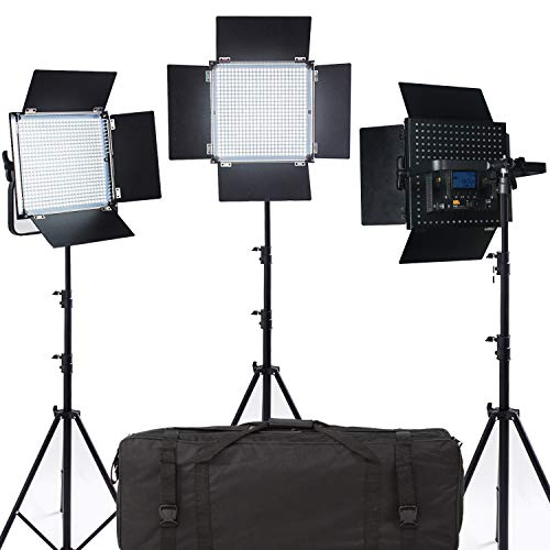 PIXEL 3PCS inalámbrico Profesional de luz LED de Video 600 CRI95 Plus 4500 LM 3200 o 5600K para fotografía Video Lighting Studio Entrevista Retrato