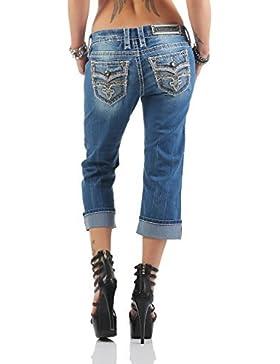 Rock Revival Donna Jeans Capri