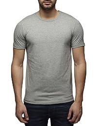Jack and Jones - T-Shirt - Coupe Cintrée - Uni - Coton - Homme