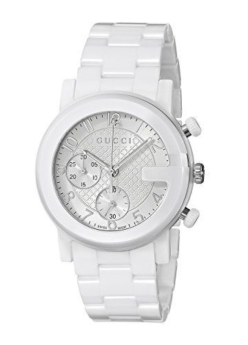 Gucci Watch G-chrono White Ceramic YA101353