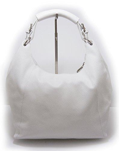 G&G PELLETTERIA , Sac pour femme à porter à l'épaule Bianco