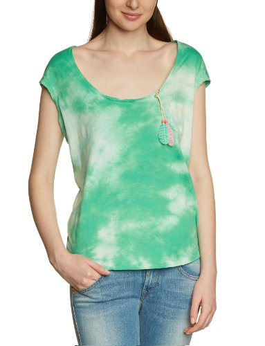 Scotch & Soda Maison Damen Top 13210251777 - boxy pop colored slub tee Mehrfarbig (A - combo A)