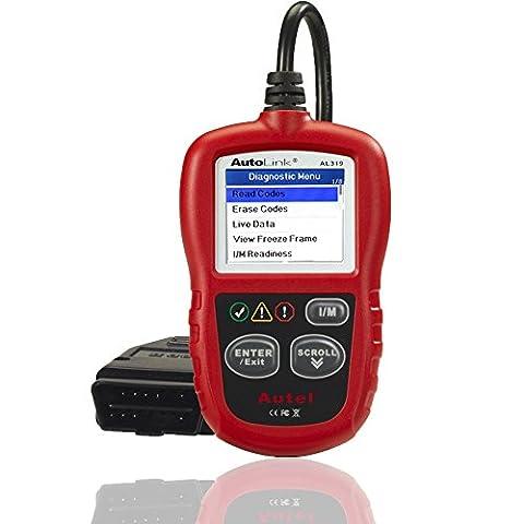 Autel Autolink Al319OBD2EOBD Voiture lecteur de code scanner de voiture Outil de diagnostic