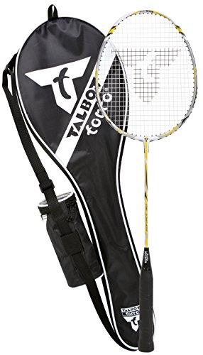 Talbot Torro Badminton-Schläger ISOFORCE 311 Starterset Ball Tasche - gelb/silber/schwarz