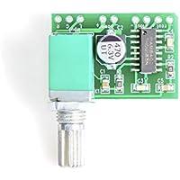 Un Mini 2x 3W Audio Estéreo Amplificador Altavoz Amplificador con volumen PAM8403