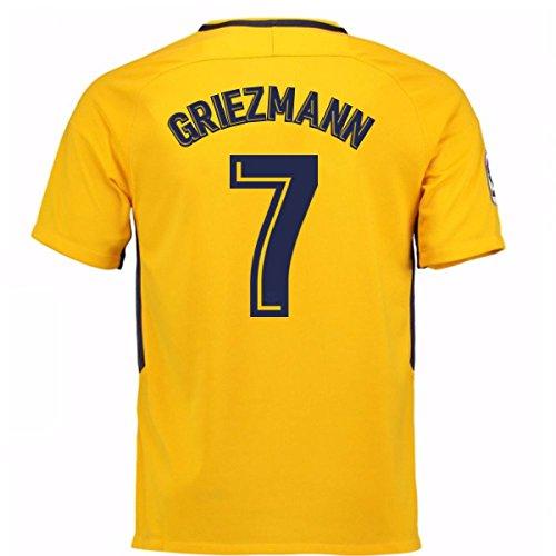 2017-18 Atletico Madrid Away Shirt (Griezmann 7) - Kids