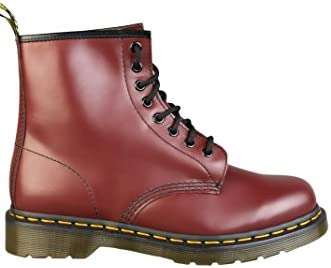 Dr. Martens 1460 - Botas para hombre Rojo rojo
