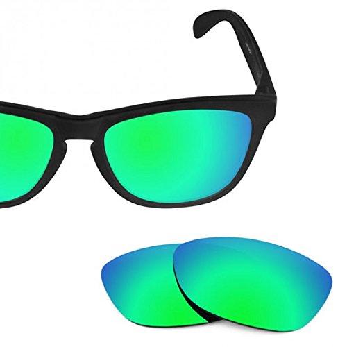 sunglasses restorer Basic Ersatzgläser Sapphire Green für Oakley Frogskins