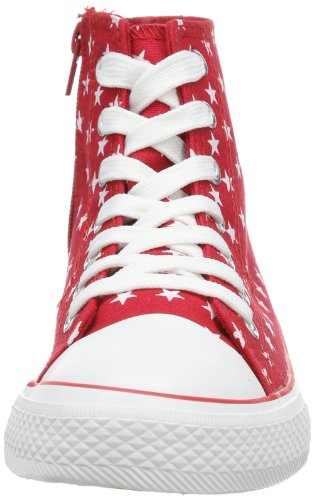 Red 3 833 333 Unisex-Kinder Sneaker Rot (red 505)