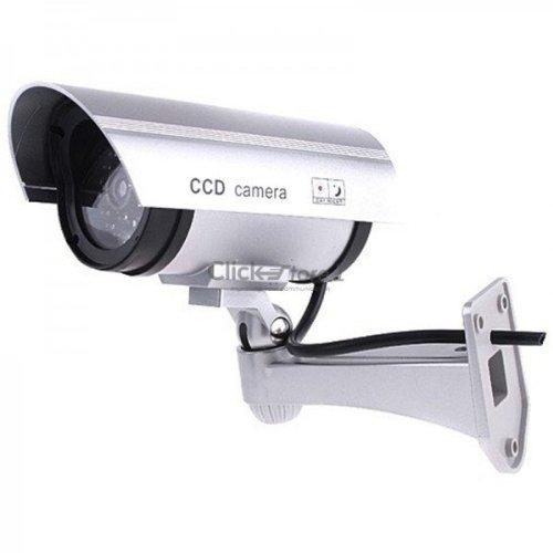 Galleria fotografica telecamera finta videosorveglianza esterno video sorveglianza videocamera cctv