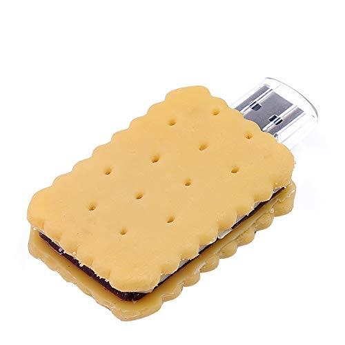 Tmacok128 Mb / 2 Gb / 4 Gb / 8 Gb / 16 Gb / 32 Gb / 64 Gb Flash Drive AFFE Cookie U-Scheibe 2.0 USB-Stick Key - Cookie-sticks