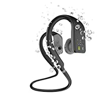 JBL Endurance DIVE Cuffie In Ear Wireless, Auricolari Bluetooth Senza Fili Waterproof IPX7 per Sport, Controlli Touch, 1GB di Memoria, Lettore MP3 integrato, 8h di Autonomia, Nero