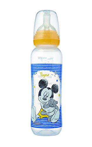 Disney Baby 80601917 - Biberón irrompible silicona