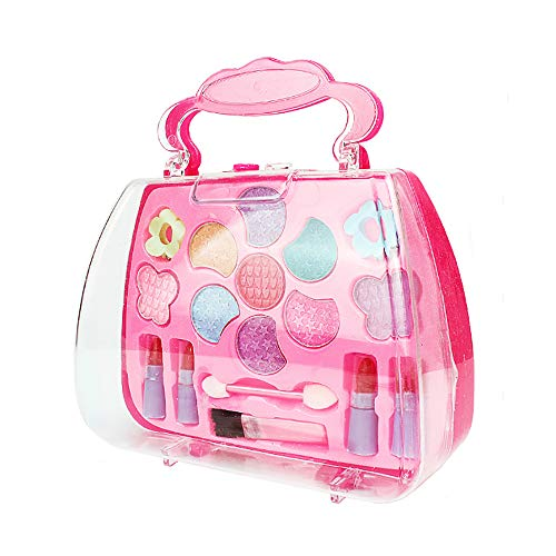 FONGFONG Rosa Kreativ Kinder Kosmetik Set Handtasche Schminkset Schminksachen Schönheit Prinzessin...