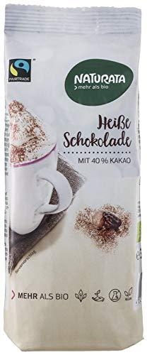 Naturata Bio Heiße Schokolade, Nachfüllbeutel (6 x 300 gr)