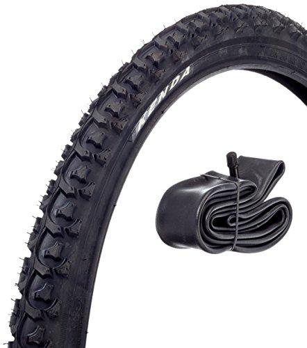 Kenda Uni K-831A Fahrradreifen-Set, Schwarz, 24 x 1.95 Zoll