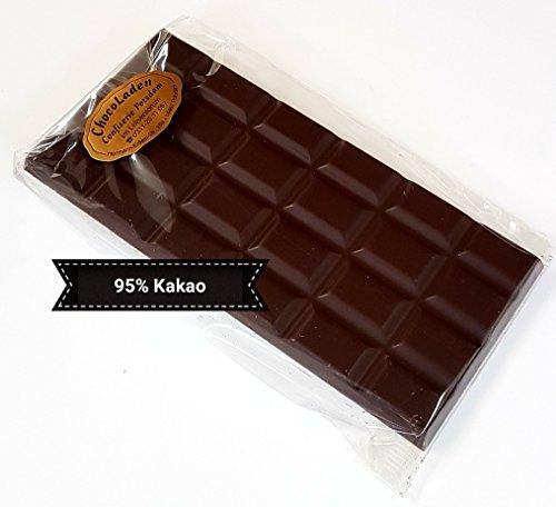 ChocoLaden - Bitterschokolade mit 95% Kakaoanteil -HANDGEMACHT-
