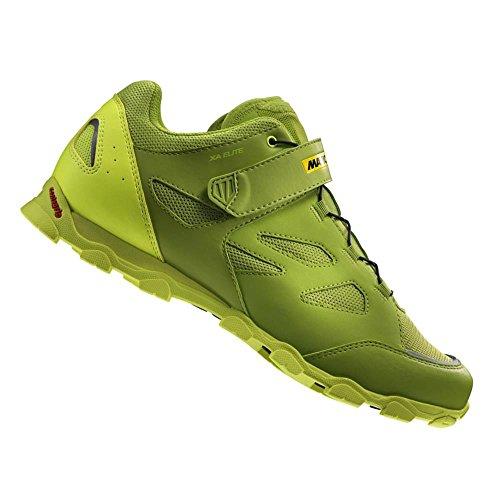 Mavic XA Elite - Zapatillas - Verde Talla del Calzado UK 10,5 / EU 45 1/3 2018
