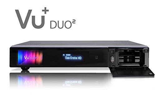 VU+ Duo² 1x DVB-S2/ 1x DVB-C/T2 Tuner PVR Ready Twin Linux Receiver Full HD 1080p