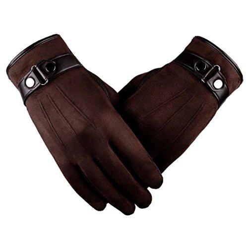 ce9ca042a64b32 Faux wildleder handschuhe FORH Unisex Warm Winter Handschuhe Motorrad  skihandschuhe softshell handschuhe Snowboard Anti Rutschen handschuh