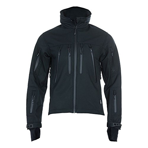 UF Pro Softshell Jacke Delta Eagle schwarz Größe XXL