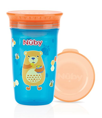 Nûby ID10411 Wonder Cup, 6 Monate, 300 ml, Aqua-Bär