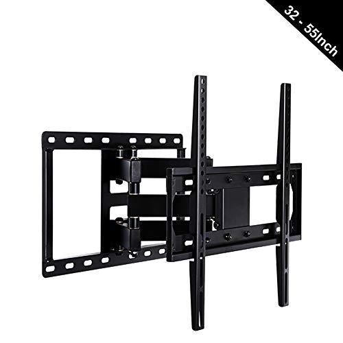 """HzvtCtarmsu TV-Wandhalterung Für Ca. 32-55\""""Schwenk- Und Neigbare Geräte   Universal-Auslegerhalterung Für Gekrümmte 4K-LCD-LED-Fernseher   VESA Bis Zu 400X400"""