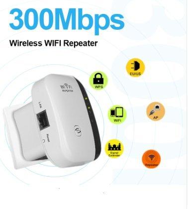 Wireless WiFi Amplificador de Señal Repetidor 802.11N/B/G Wi-fi Extan