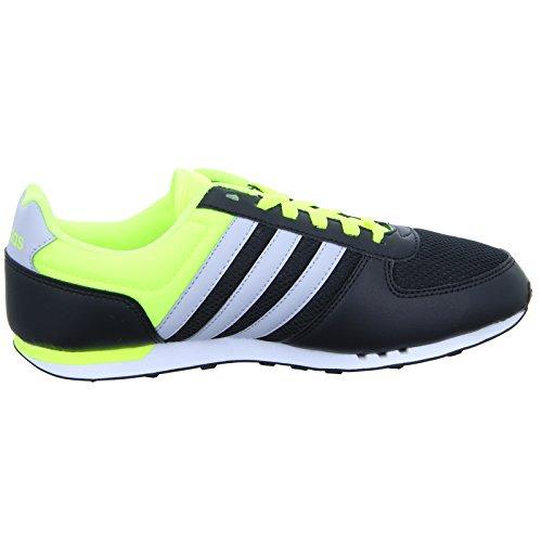 adidas City Racer, Chaussures de Sport Homme, 42 EU Noir