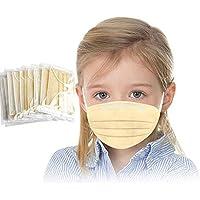 JIekyoi 10PC ��á���������� Empaquetado Individualmente, Desechable Niño Niña ���������������������� Facial Cubrir Boca Nariz Protege Protección Facial Dispositivo Transpirable Cómodo Salud