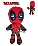 Marvel - Peluche Deadpool Postura Mani Cuore 32 cm qualità Super Soft