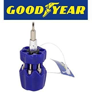 Goodyear 7-in-1 Stubby Screwdriver