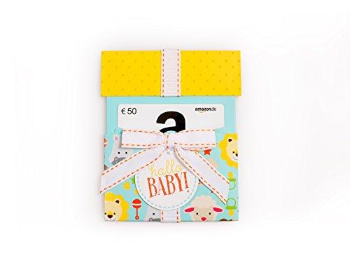 Amazon.de Geschenkgutschein in Geschenkkuvert - 50 EUR (Hallo Baby)