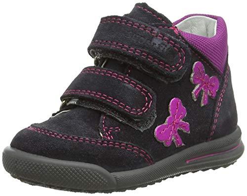 Superfit Baby Mädchen Avrile Mini Sneaker, (Grau 20), 20 EU