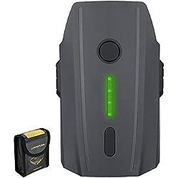Powerextra Batería Mavic Pro,11.4V 3830 mAh LiPo Batería de Vuelo Inteligente Reemplazo Li-Po Batería Recargable para dji Mavic Pro y Platinum y Drone Blanco Alpino(no Compatible con Mavic Pro 2)