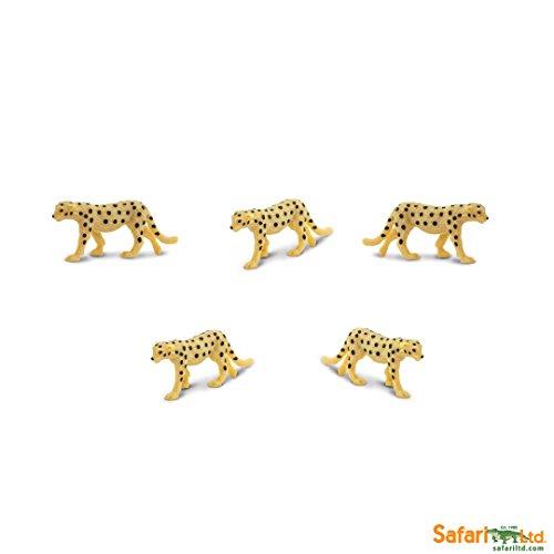 Safari Ltd. - Good Luck Minis - Glücksminis - Geparden 5 Stück -