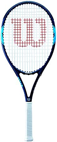 Wilson Unisex Adult 2-WRT30650U3 Monfils Open 10 Tennis Racket Without Cover - Blue Ocean, Grip 3