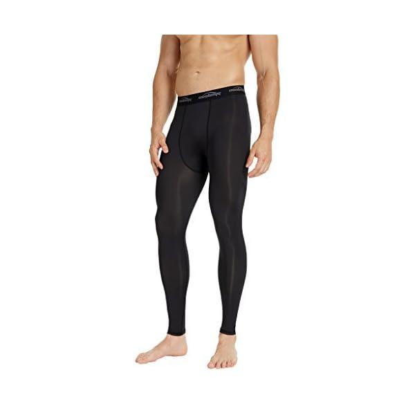 b2e36556b1cc1 COOLOMG Compression Pants Running Tights Base layer Leggings Gym ...