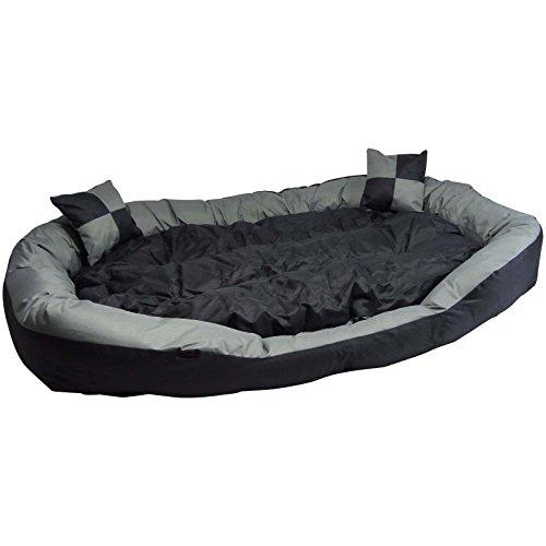 Hossi's wholesale divano per animali o cuccioli, molto grande, cesta per grandi animali, morbida, lavabile, taglia xl, 150x 120x 25cm