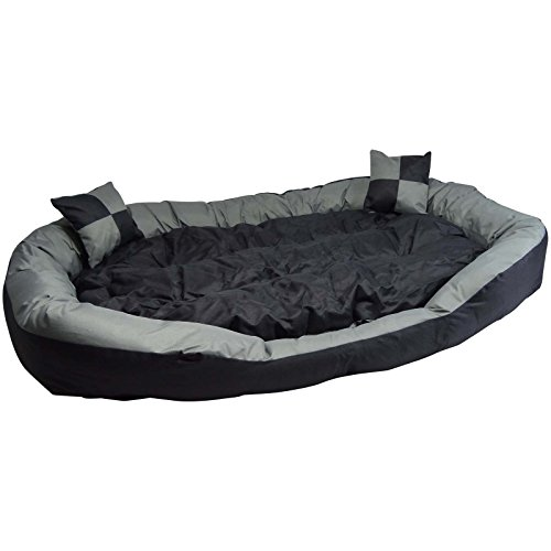 Hossi's Wholesale Big Tier Sofa - auch Welpenbett Hundebett XXL - kuscheliges, waschbarer Hundekorb Big Tier Sofa - Größe L 110x80x20cm -