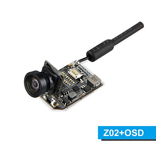 BETAFPV Z02 FPV Camera 480TVL CMOS OSD with Switchable 25mW 200mW Transmitter with SmartAudio for Tiny Whoop Blade Inductrix Racing Drone