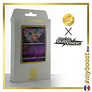 Mr.Mine 66/181 Holo Reverse - #myboost X Soleil & Lune 9 Duo de Choc - Box de 10 Cartas Pokémon Francés