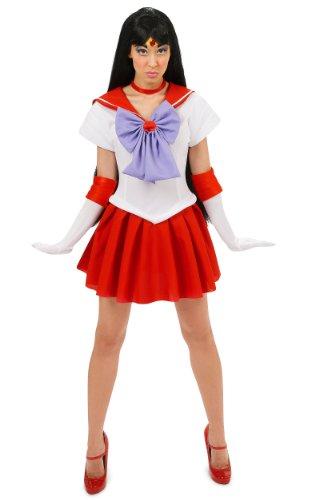 Sailor Moon Sailor Mars Adult Costume Halloween Size: Medium (japan import) (Sailor Mars Kostüm)