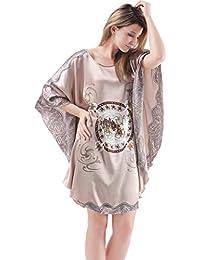 395947cb5 Pijama Mujer Sexy Pieza Verano Tallas Grandes Ropa de Dormir camisón Mujer